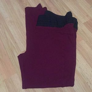 Maurices size large leggings